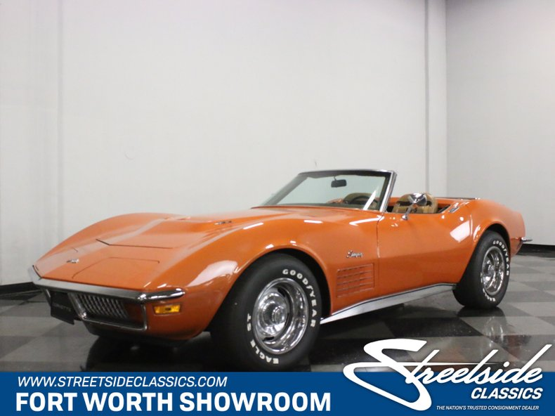 For Sale: 1972 Chevrolet Corvette