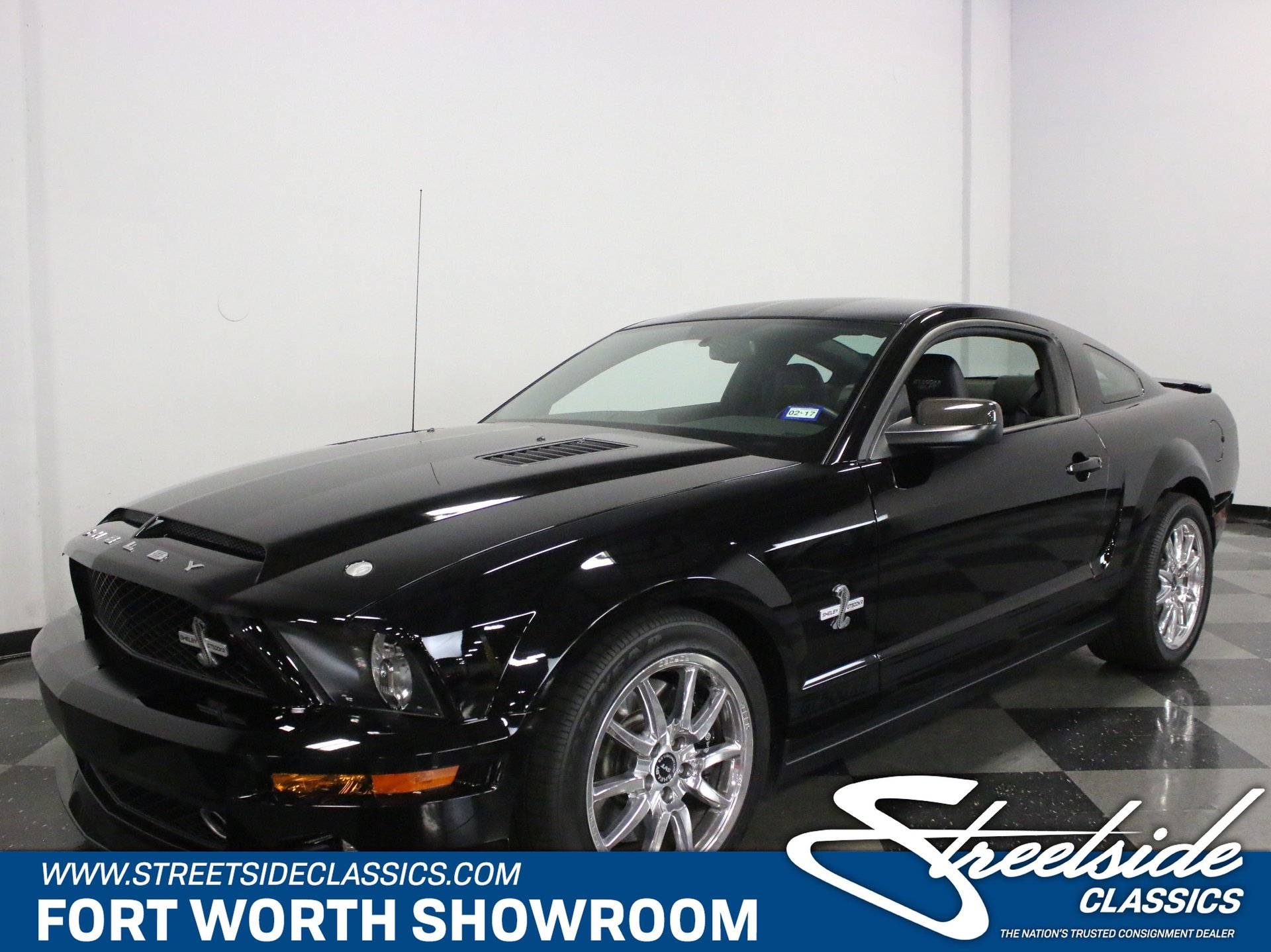 2009 ford mustang shelby gt500 kr