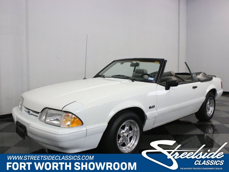 For Sale: 1991 Ford Mustang