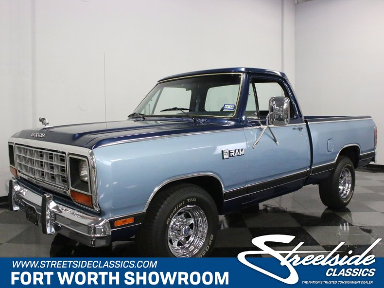 For Sale: 1985 Dodge D100
