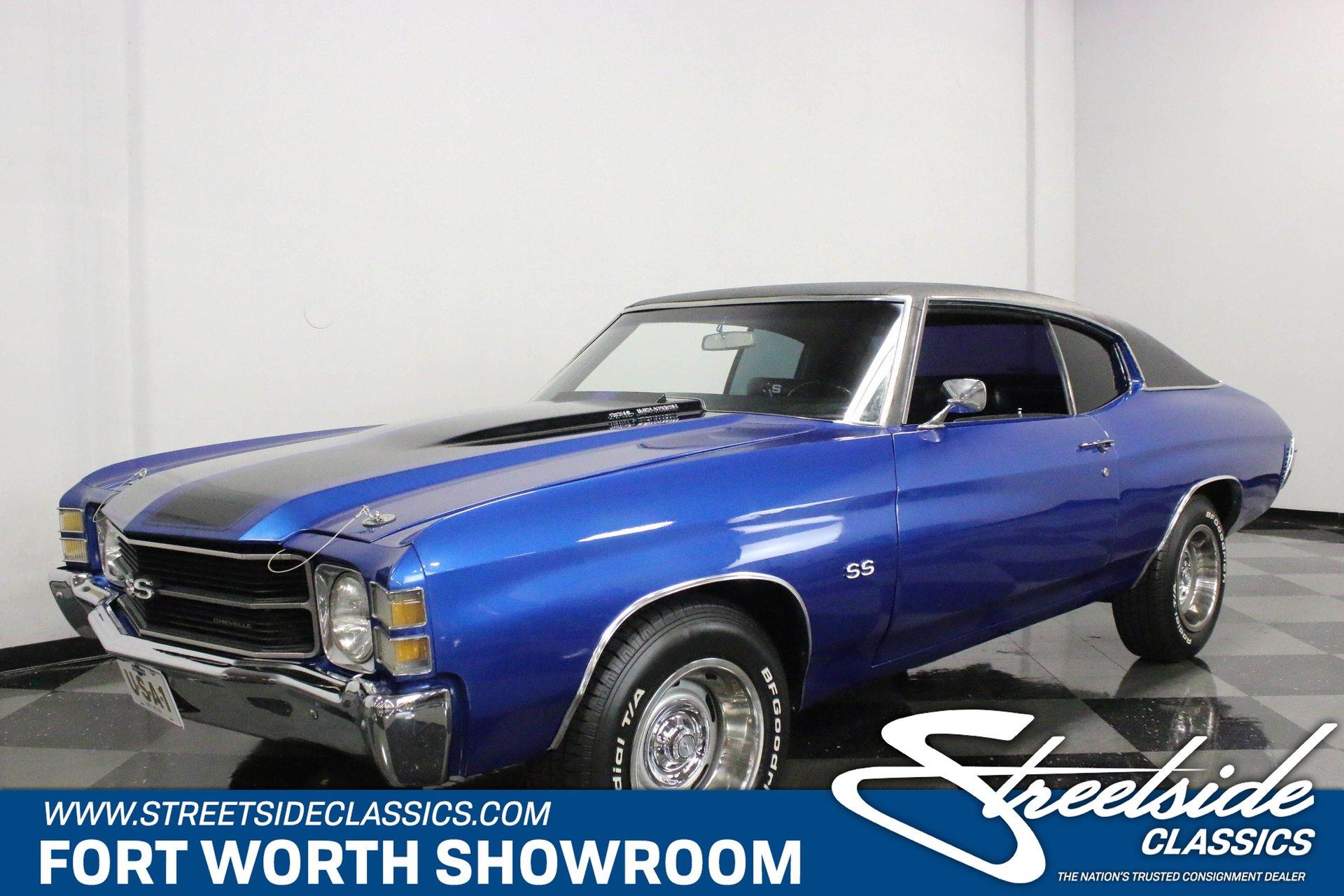 1971 chevrolet chevelle ss 350