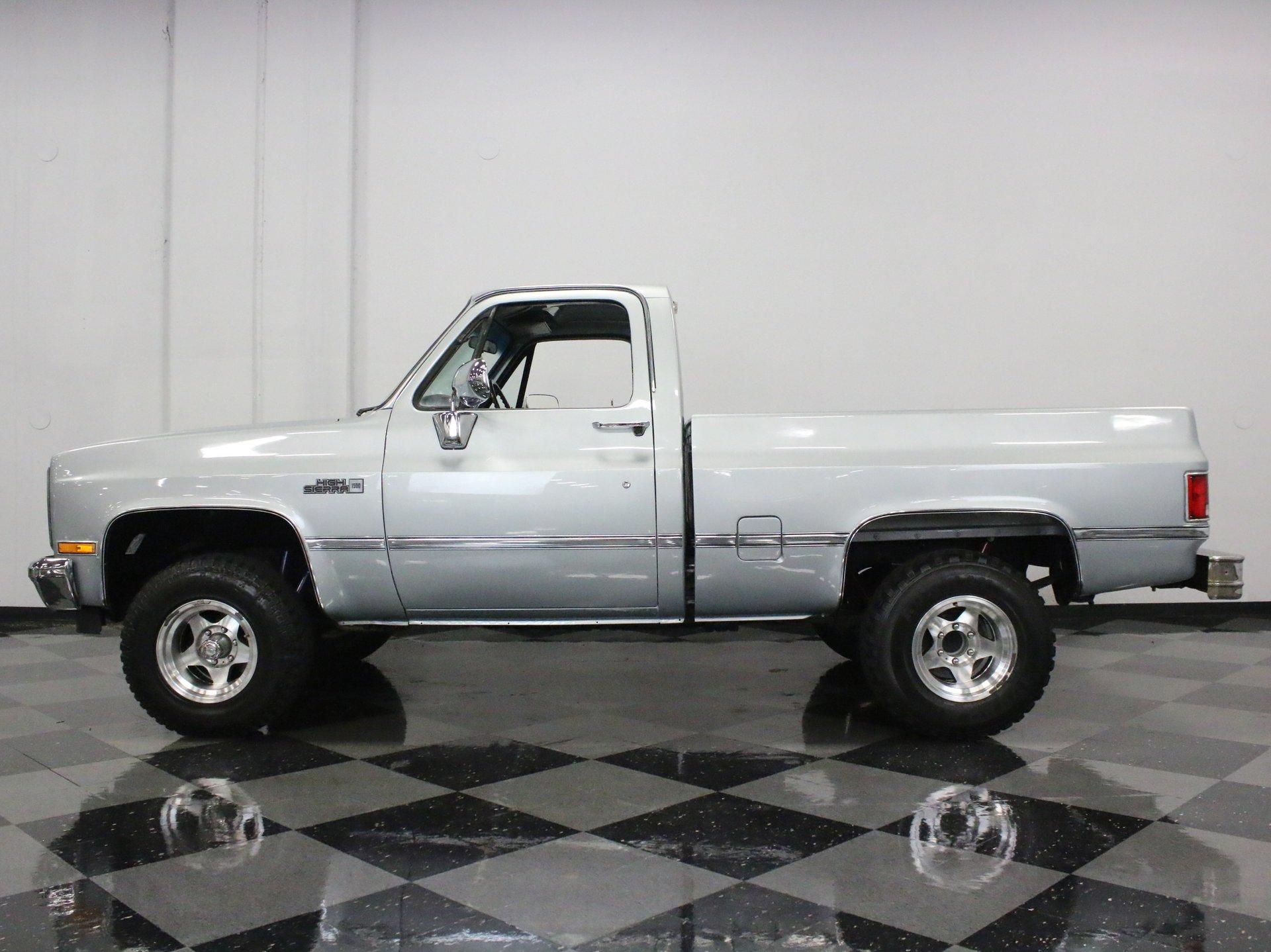 1987 gmc 1500 high sierra 4x4