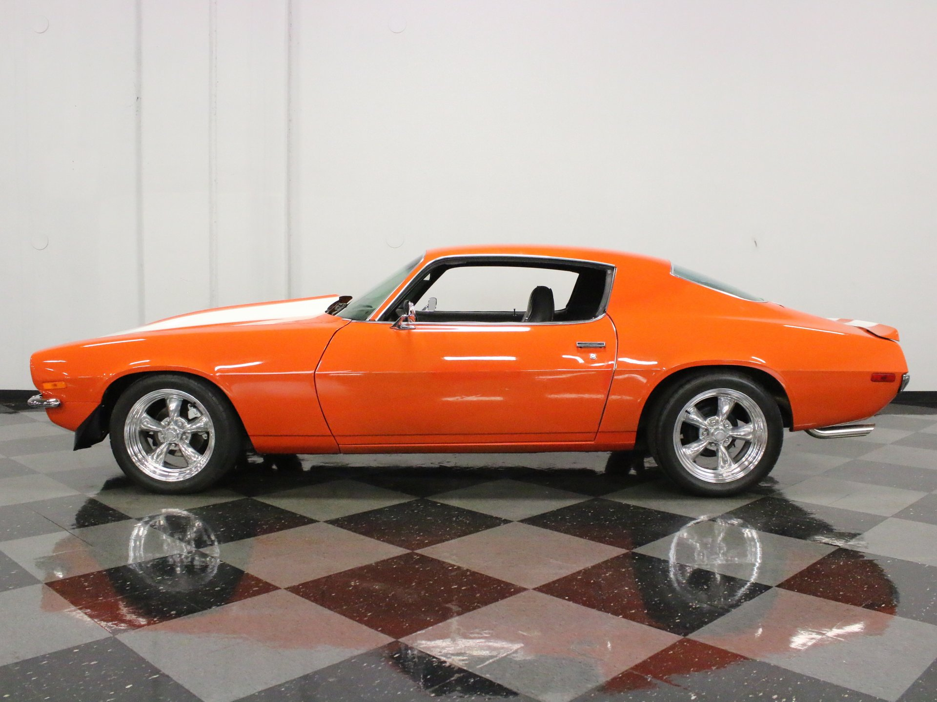 1972 chevrolet camaro restomod