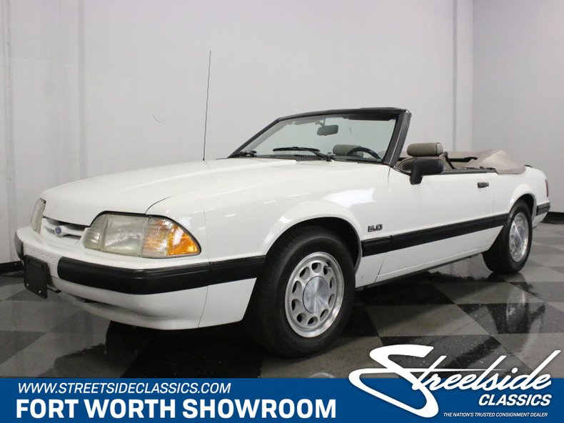 5f69b608ce7f03 Email Us About This  1990 Ford Mustang LX Convertible