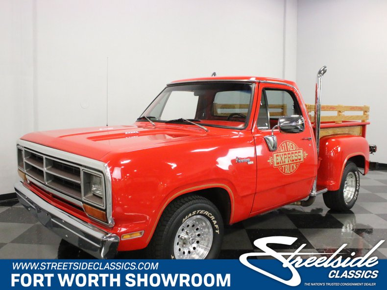 For Sale: 1975 Dodge Lil Red Express