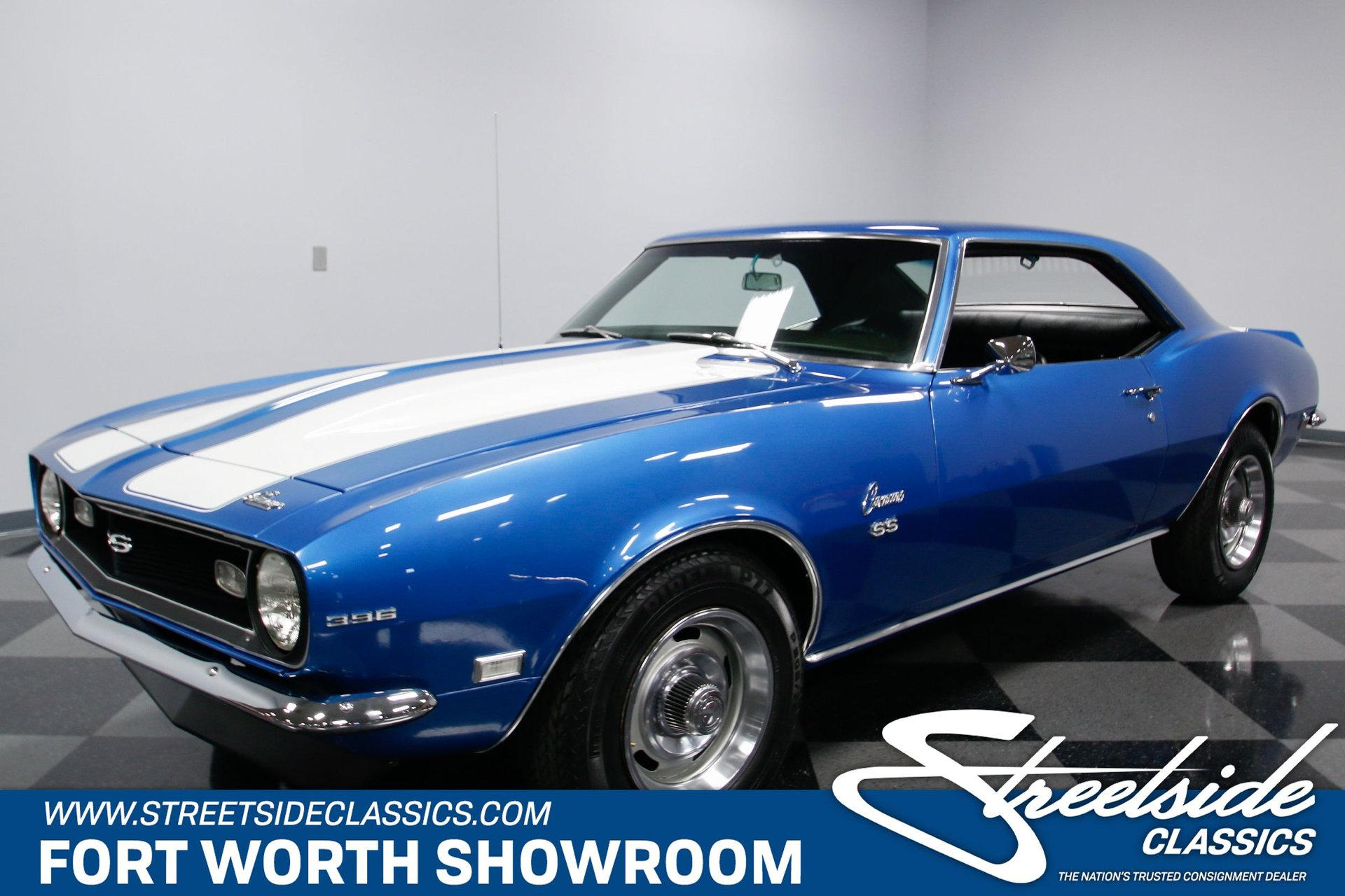 1968 Chevrolet Camaro Ss 454 For Sale 78874 Mcg Blue