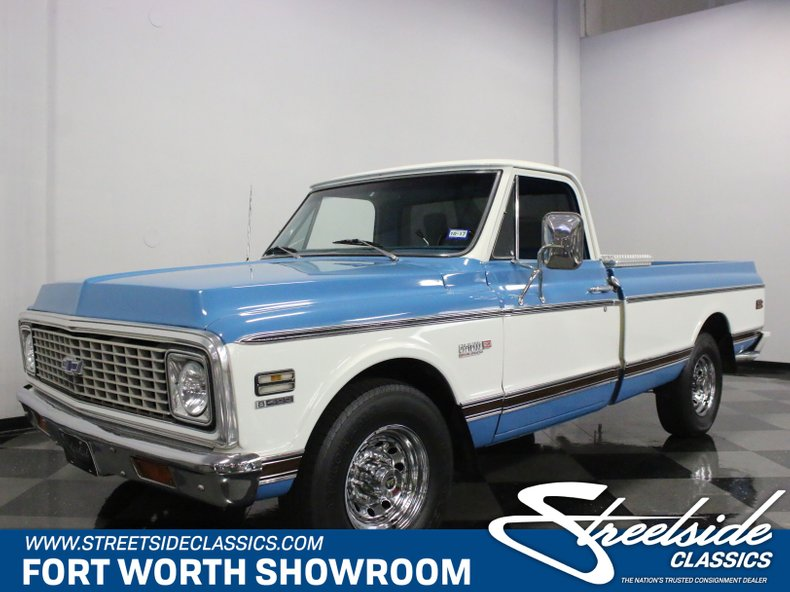 For Sale: 1972 Chevrolet C20