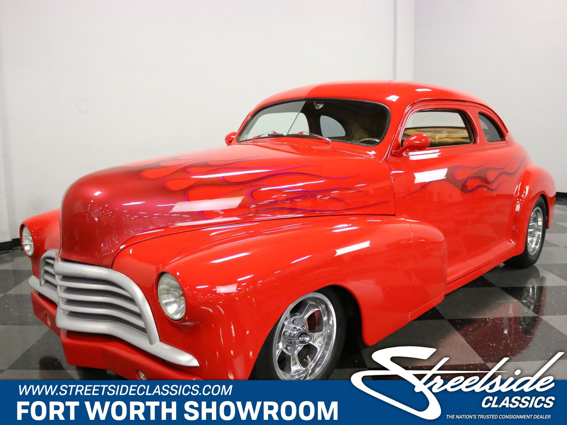 1948 chevrolet stylemaster 2 door coupe