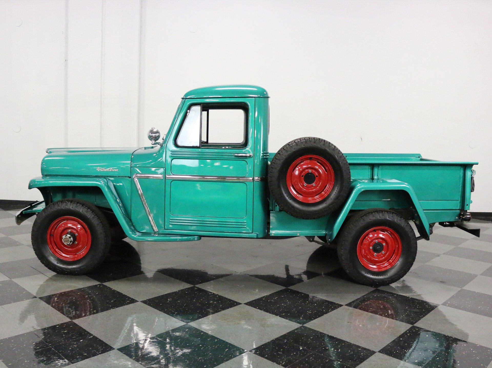 1960 willys pickup 4x4