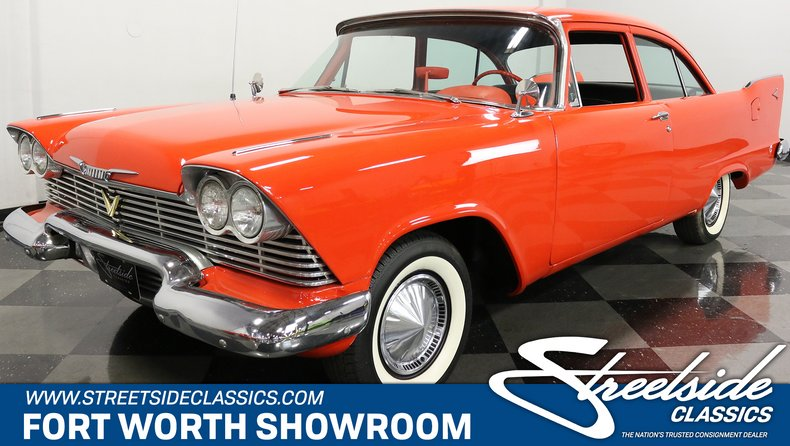 For Sale: 1958 Plymouth Plaza
