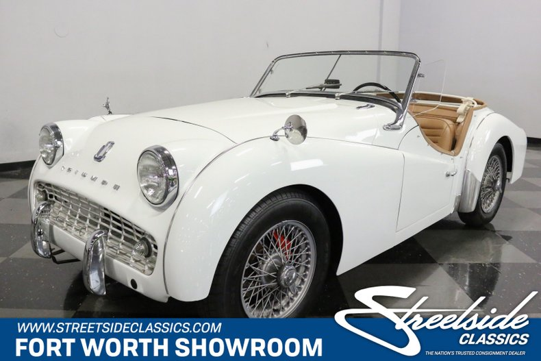 For Sale: 1963 Triumph TR3