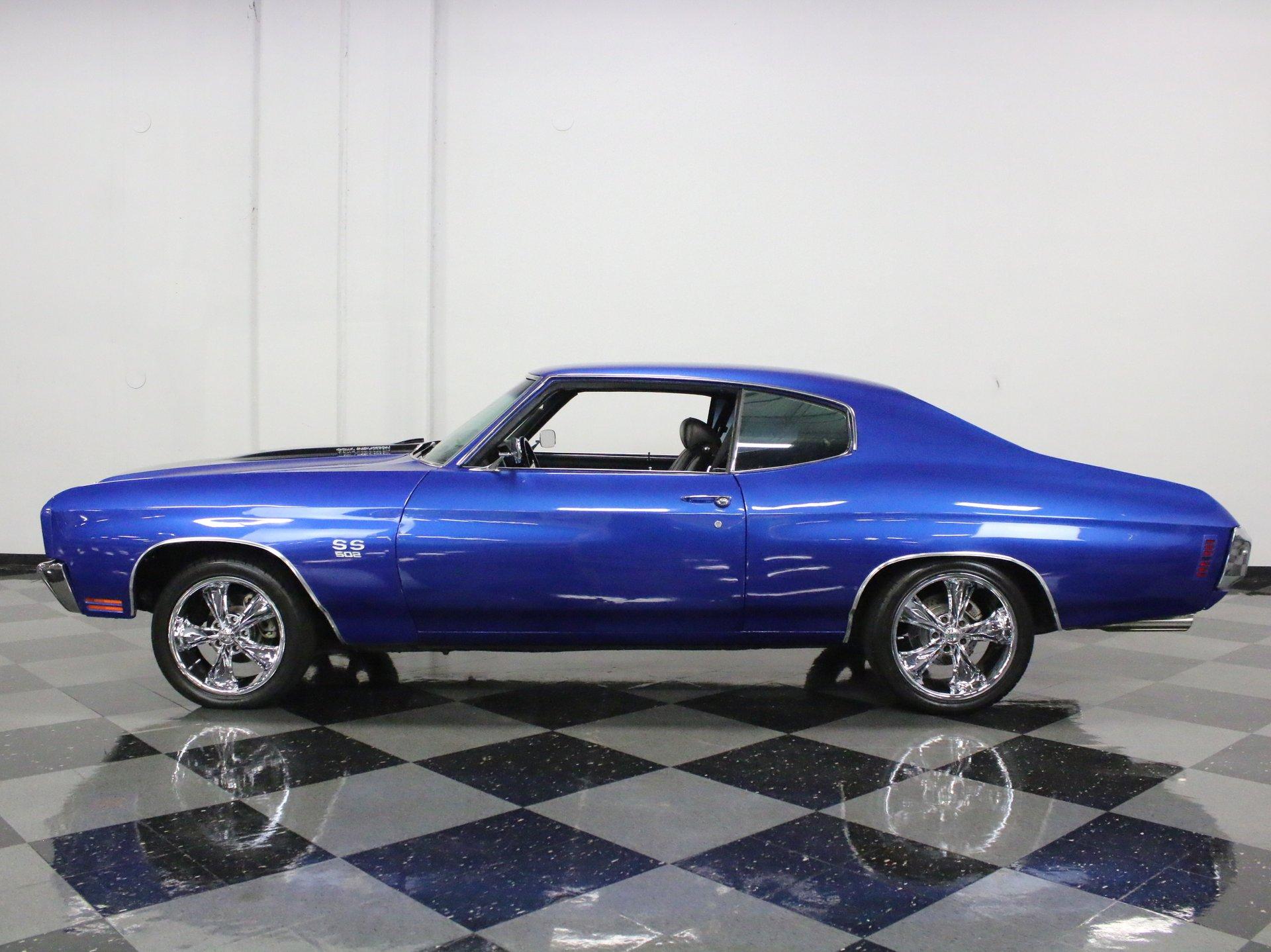 1970 chevrolet chevelle ss 502