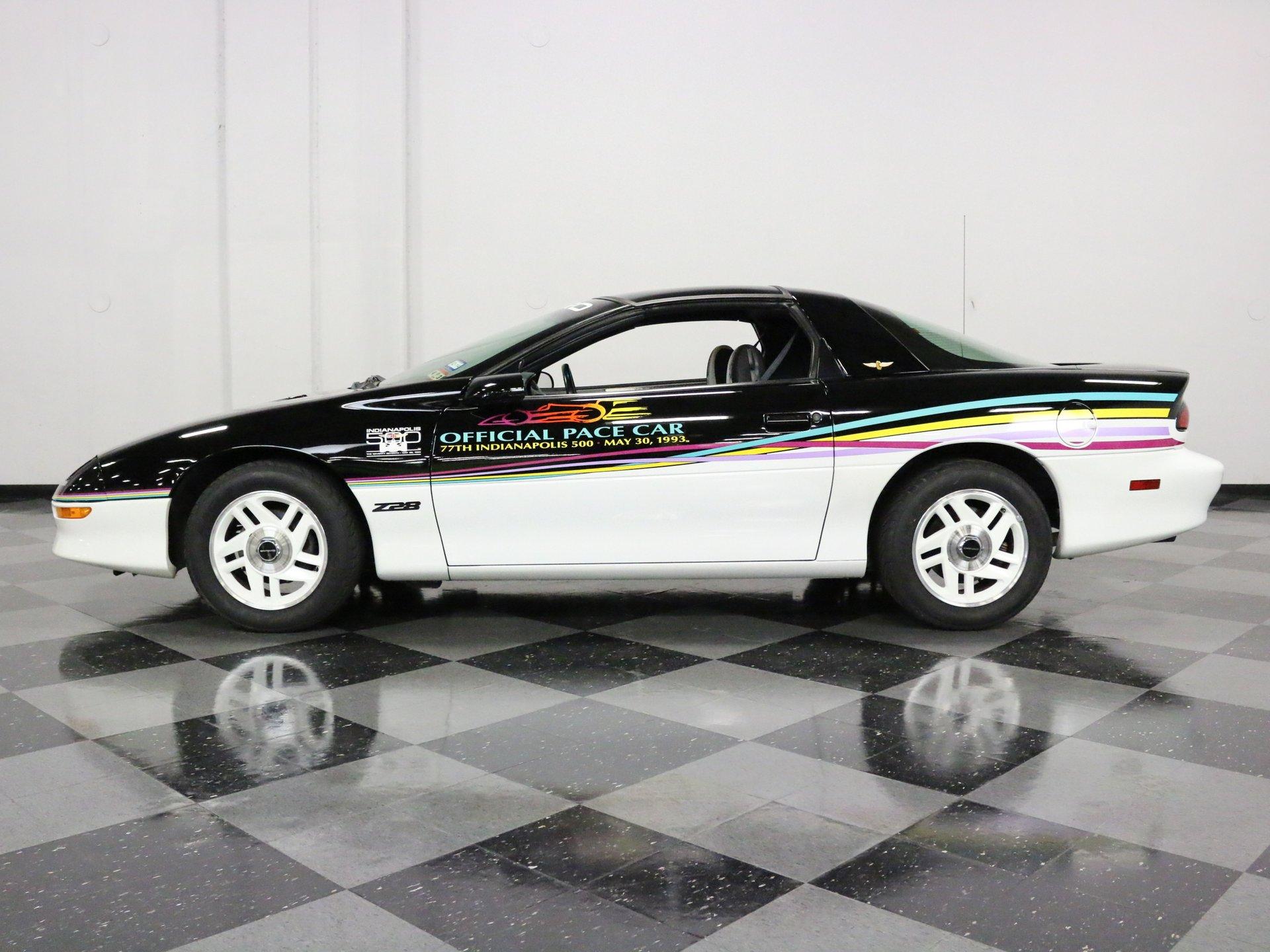 1993 chevrolet camaro z 28 pace car