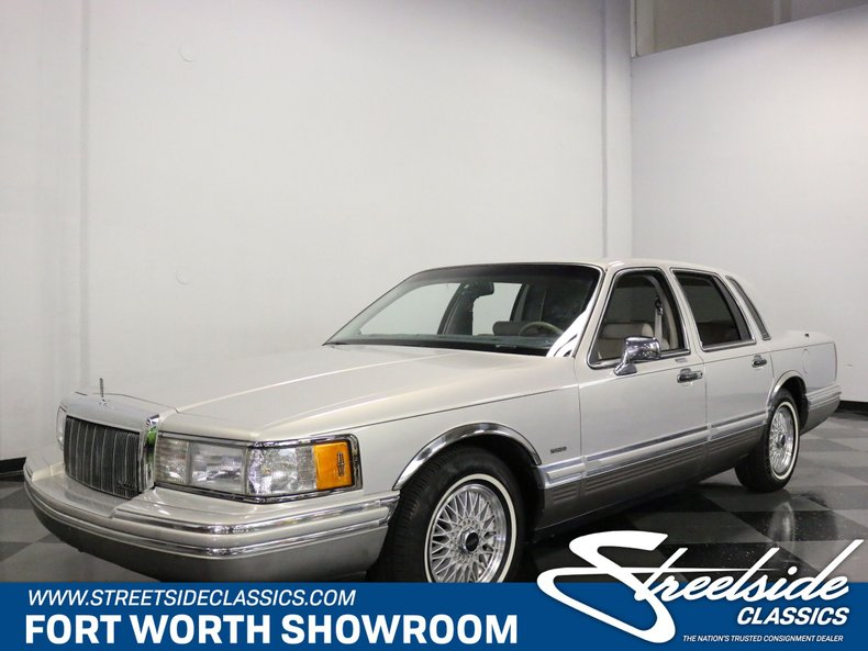 For Sale: 1992 Lincoln Town Car