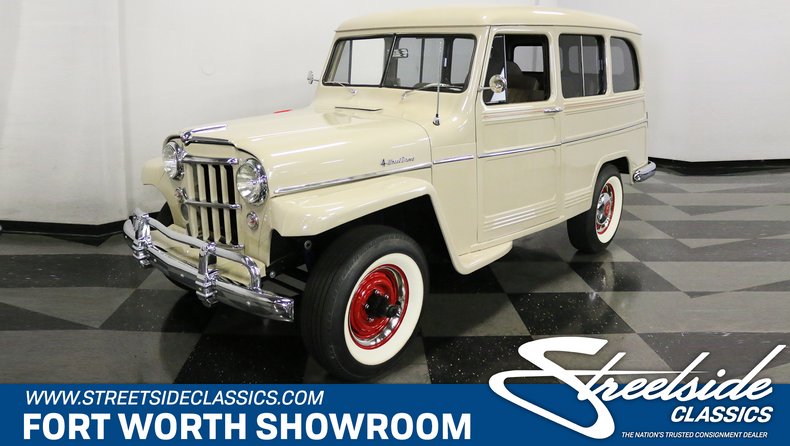 For Sale: 1956 Willys Station Wagon
