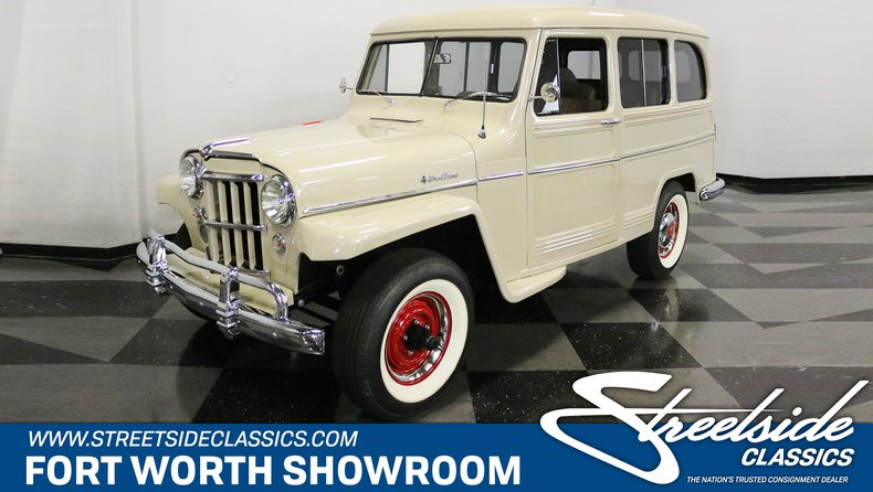 For Sale: 1956 Willys Wagon