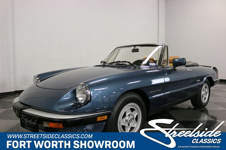 For Sale: 1988 Alfa Romeo Spider Veloce