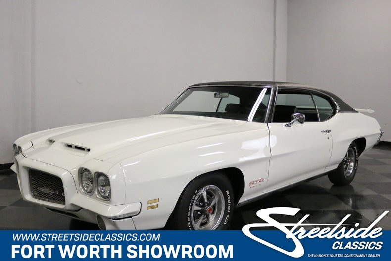 For Sale: 1971 Pontiac GTO