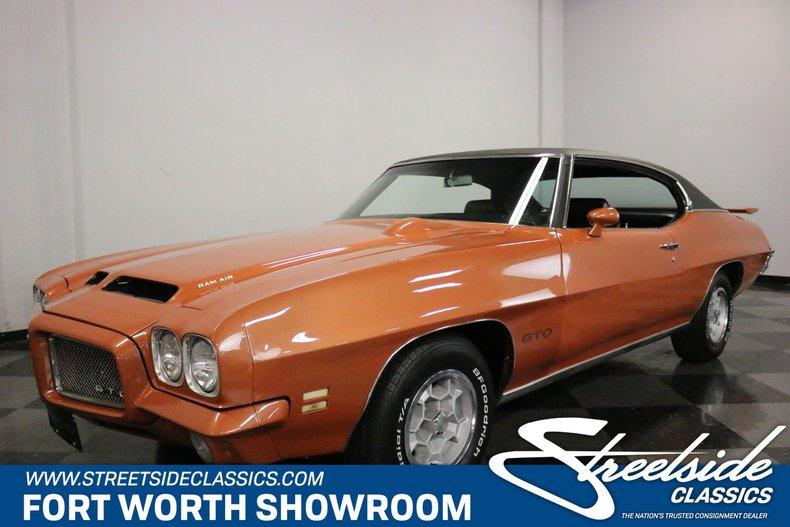 For Sale: 1971 Pontiac GTO