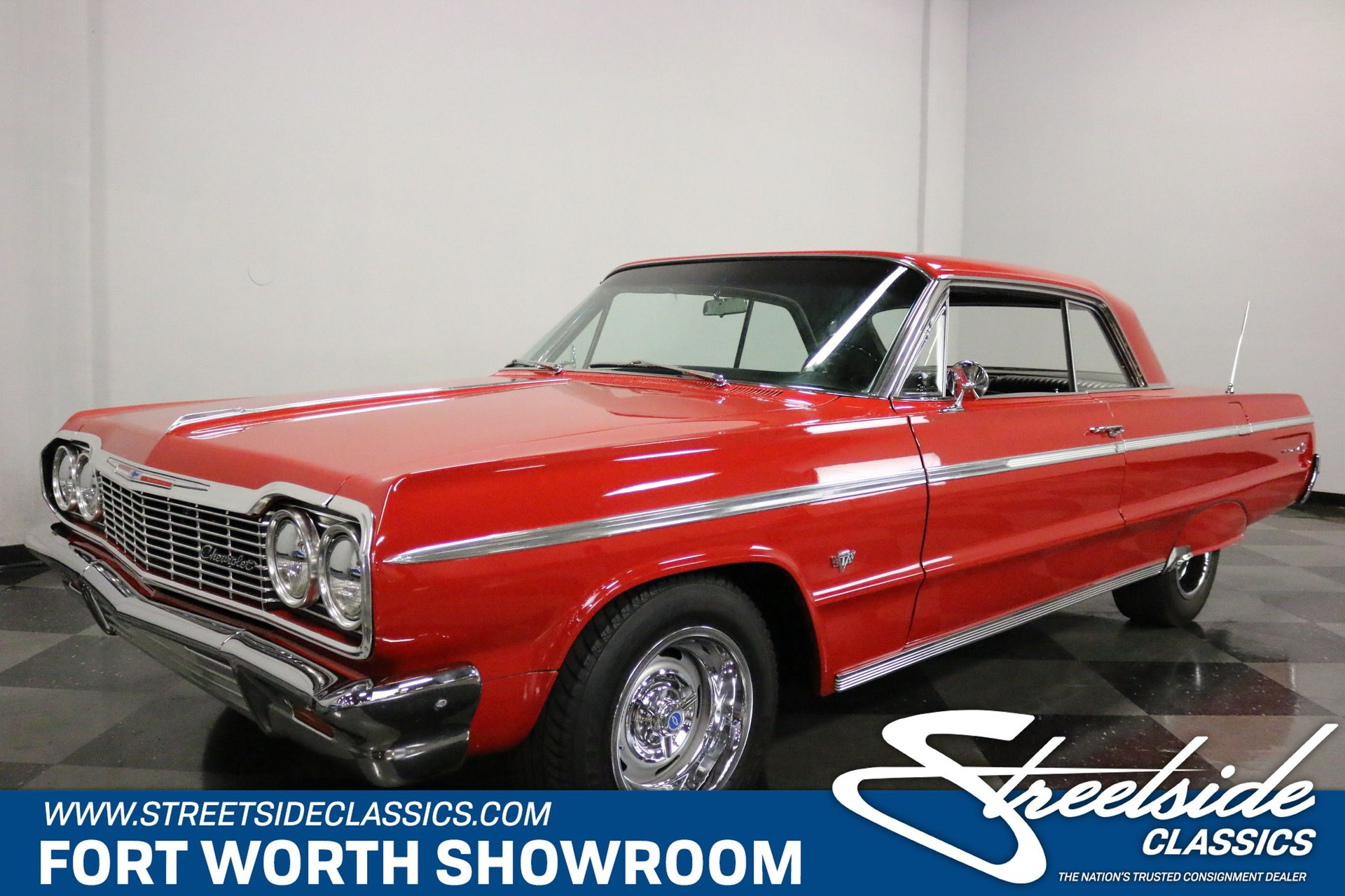 1964 Chevrolet Impala Ss 409 For Sale 82513 Mcg 1966 Chevy Convertible
