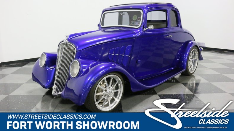 For Sale: 1933 Willys 5 Window Coupe