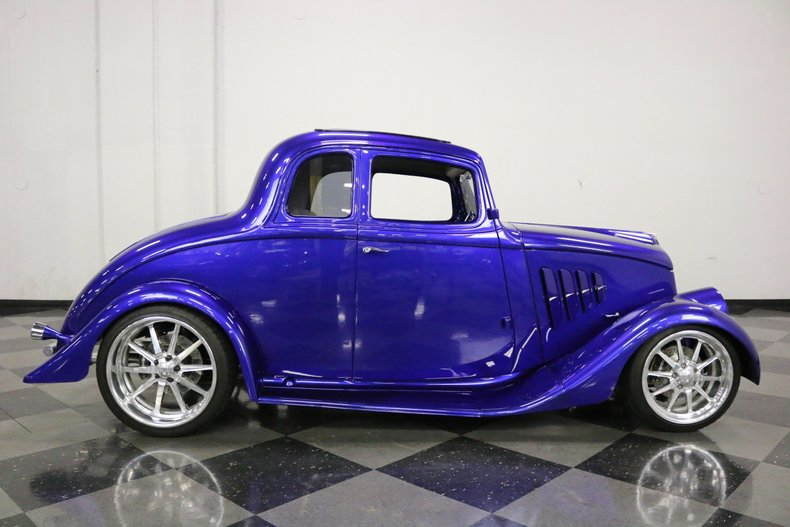 1933 Willys 5 Window Coupe 22