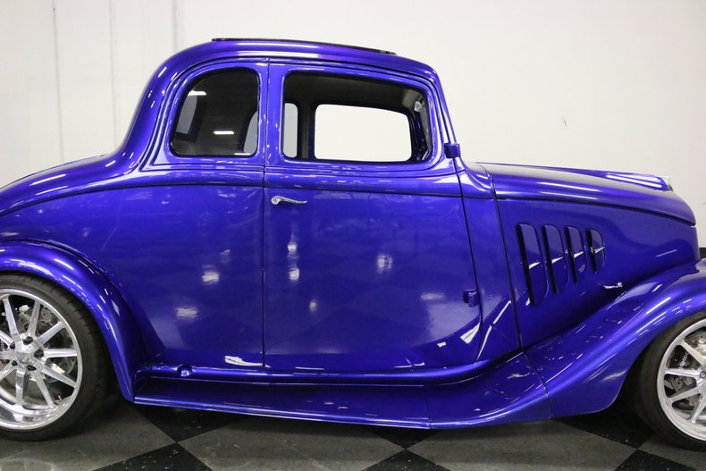 1933 Willys 5 Window Coupe 25