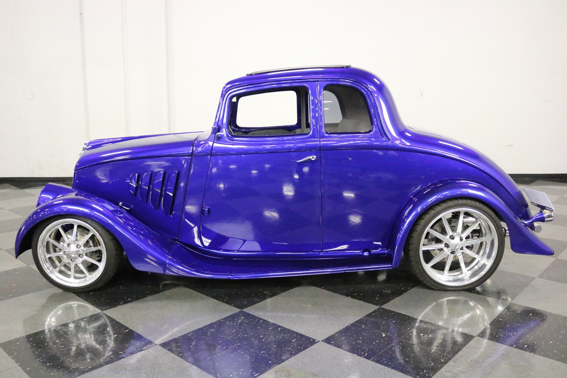 1933 willys 5 window coupe restomod