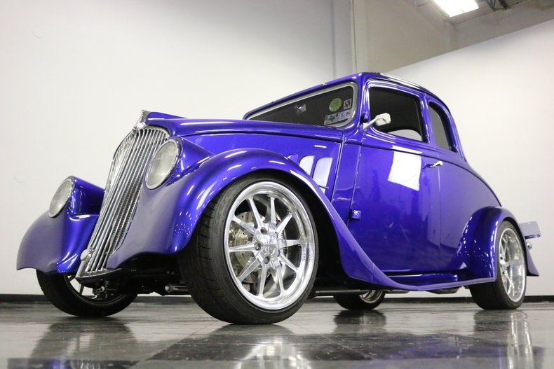 1933 Willys 5 Window Coupe 7
