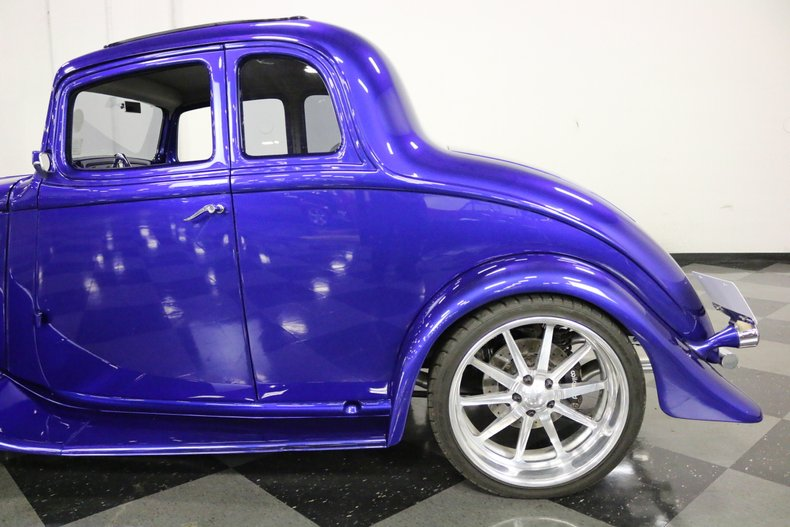 1933 Willys 5 Window Coupe 13
