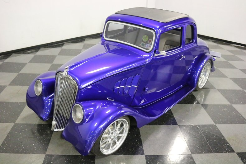 1933 Willys 5 Window Coupe 6