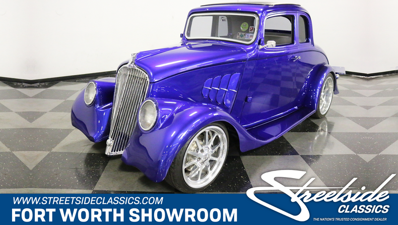 For Sale: 1933 Willys Coupe