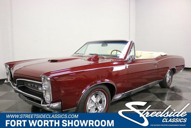 For Sale: 1967 Pontiac GTO