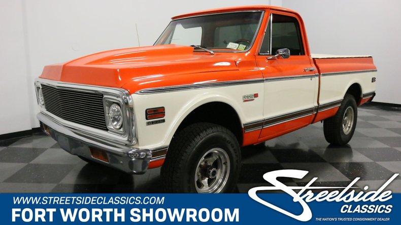 1972 Chevrolet K-10 For Sale