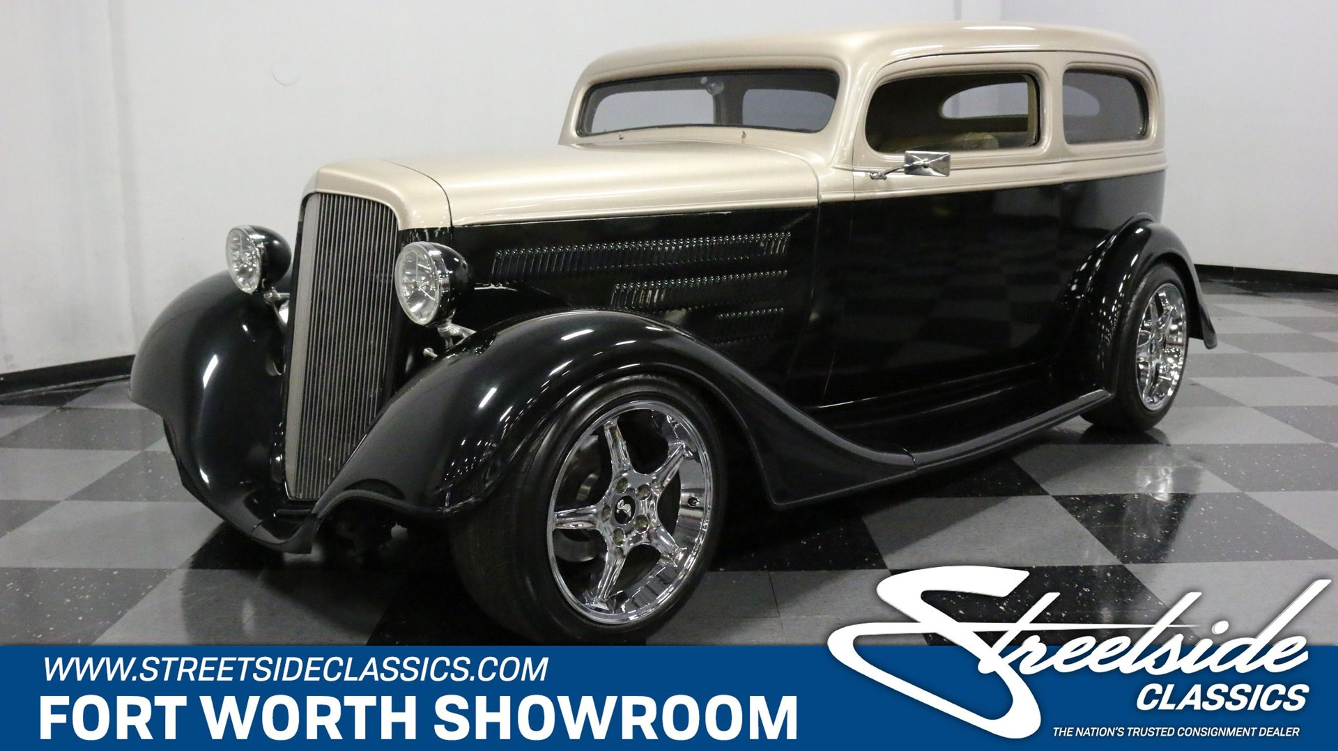 1934 chevrolet sedan restomod
