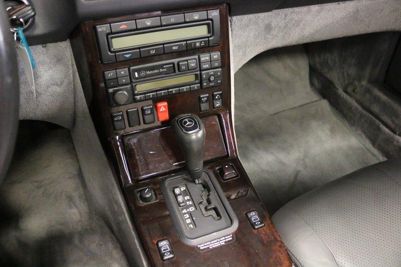 1998 Mercedes Benz SL500 Convertible For Sale
