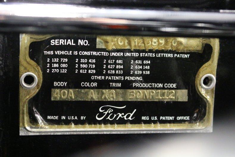 1956 Ford Thunderbird 72