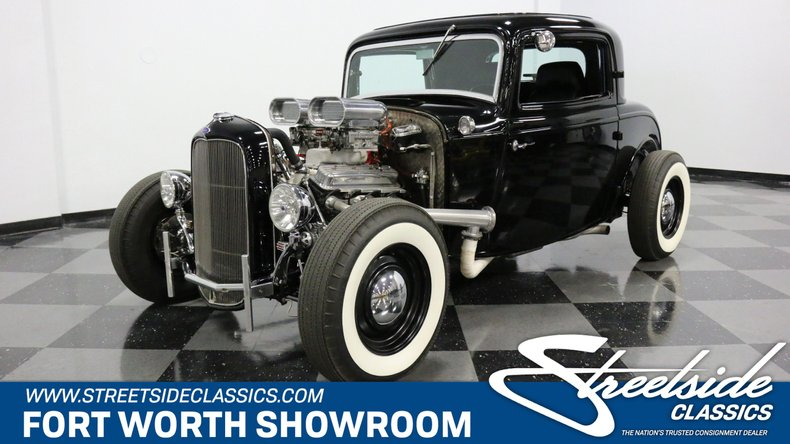 For Sale: 1932 Ford 3-Window