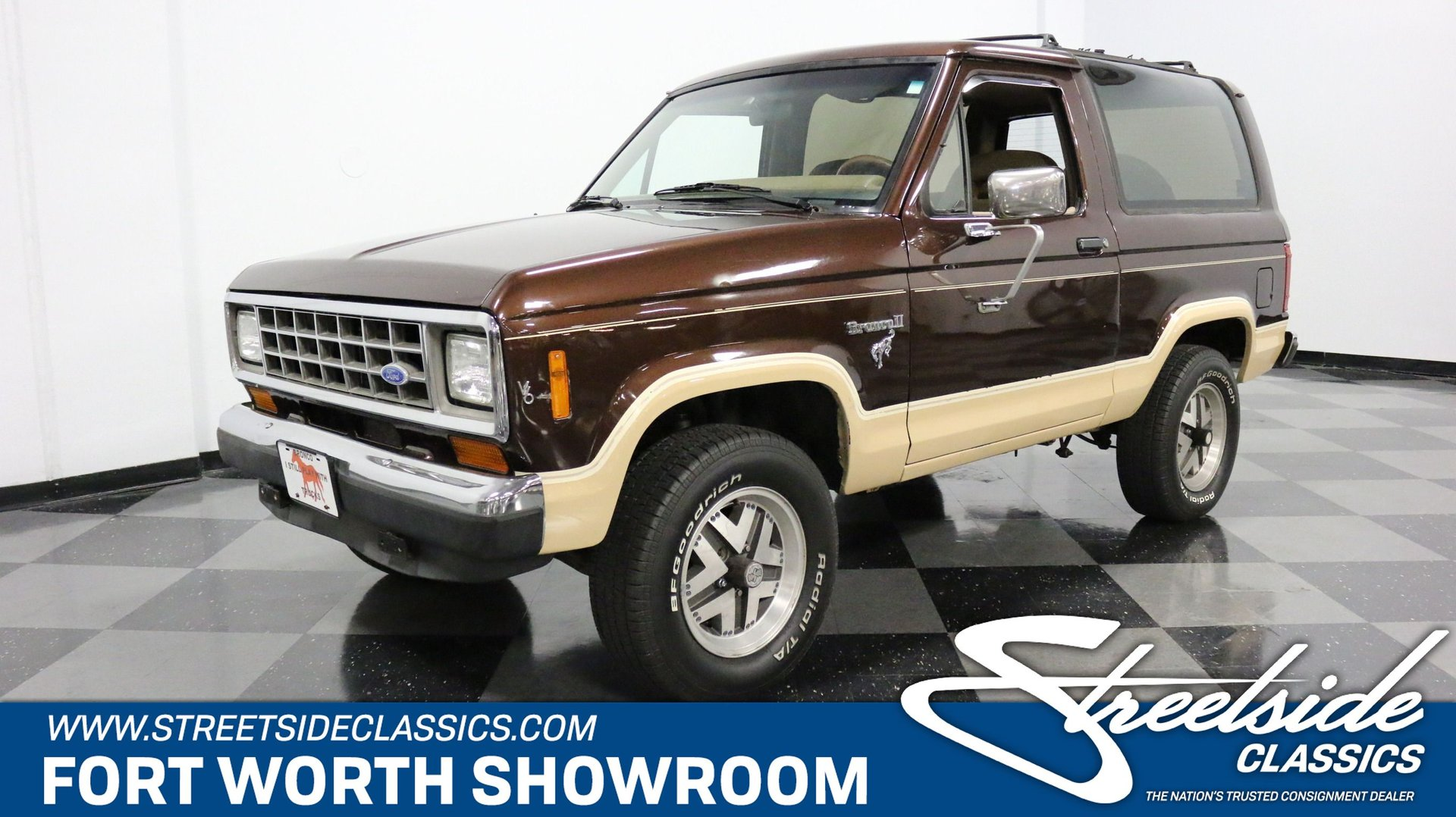 1986 Ford Bronco Ii Classic Cars For Sale Streetside Classics The Nation S 1 Consignment Dealer
