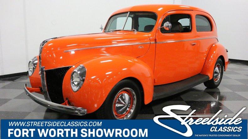 For Sale: 1940 Ford Tudor