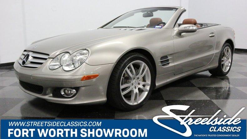 For Sale: 2007 Mercedes-Benz SL550
