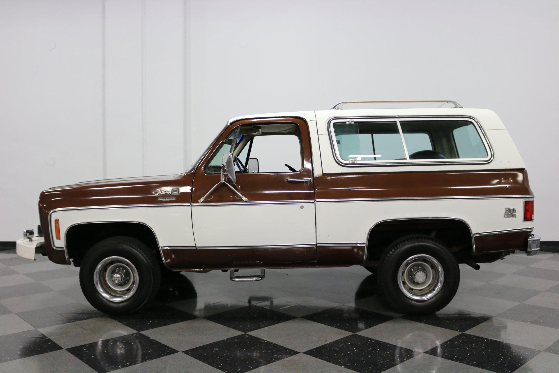 1978 gmc jimmy high sierra