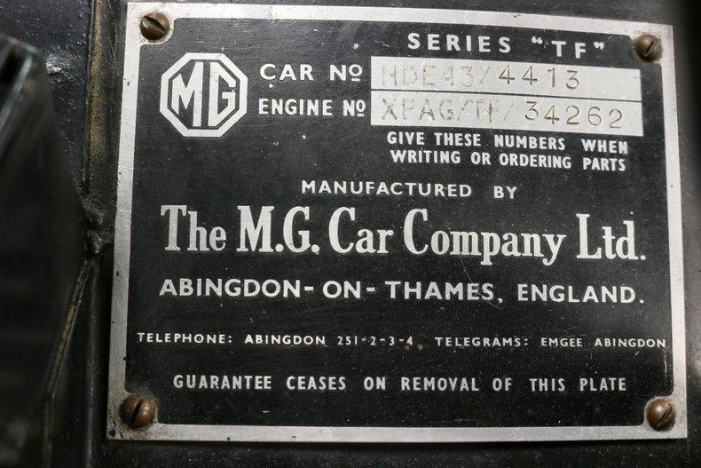 1955 MG TF 65