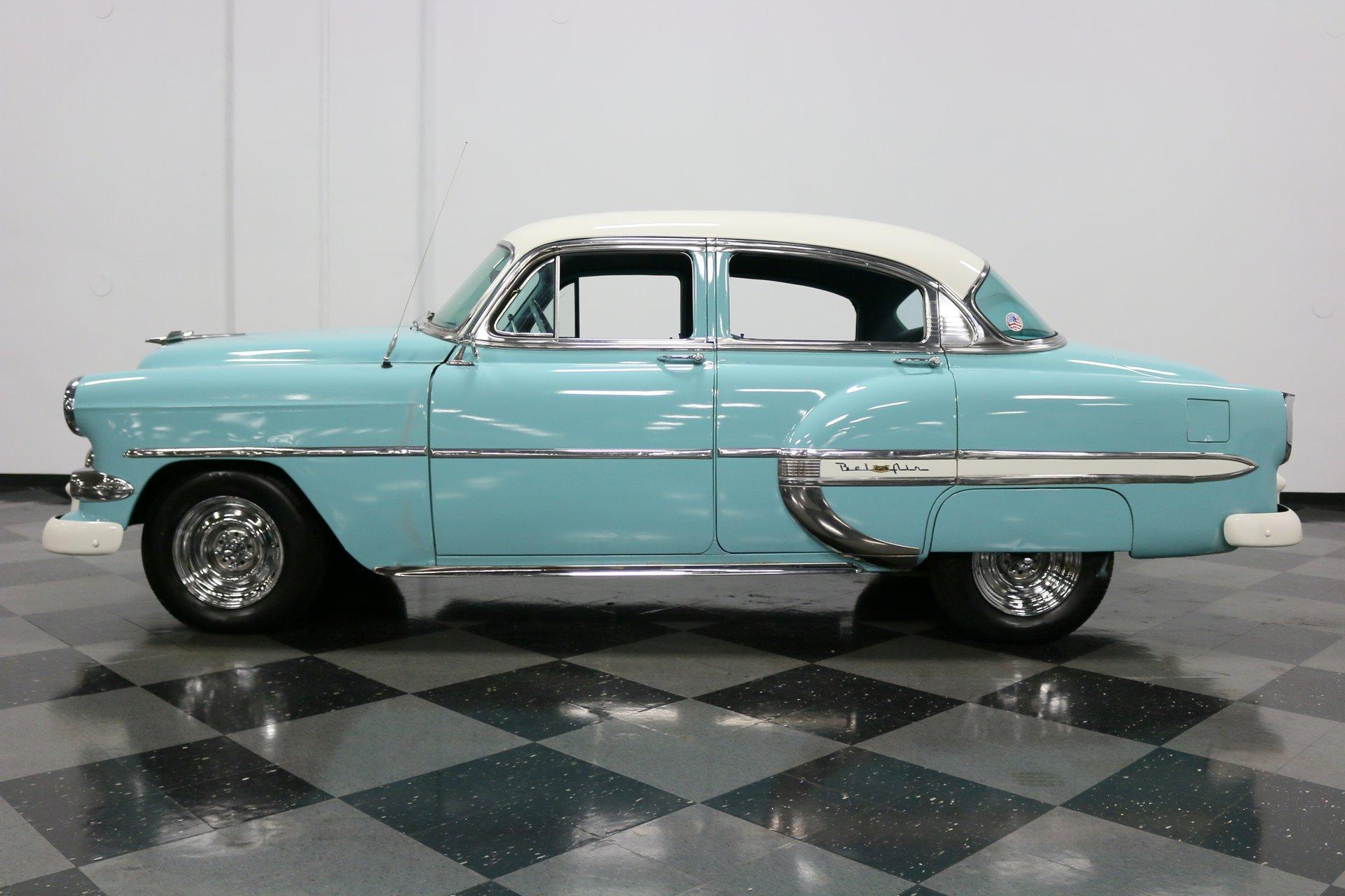 1954 chevrolet bel air 4 door sedan