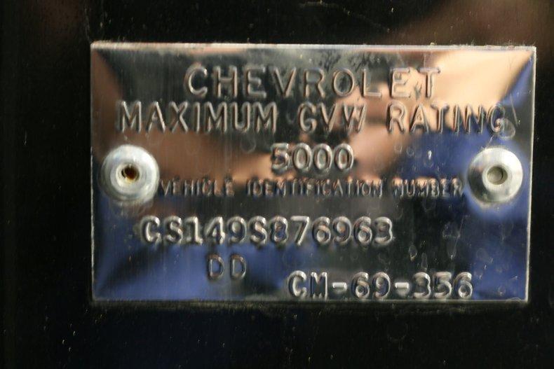 1969 Chevrolet C10 68