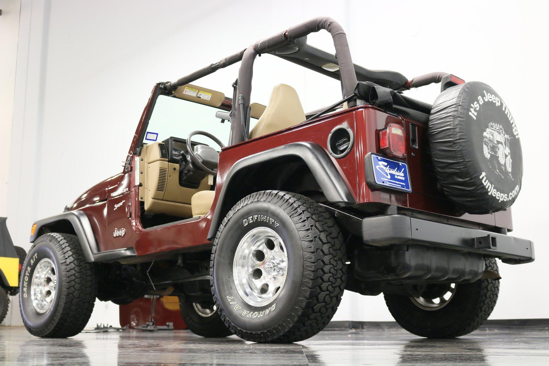 2001 Jeep Wrangler Streetside Classics The Nation S Trusted