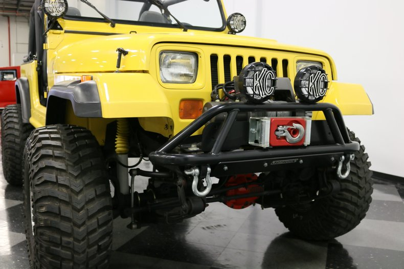 1993 Jeep Wrangler 76