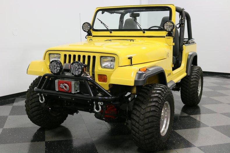 1993 Jeep Wrangler 20