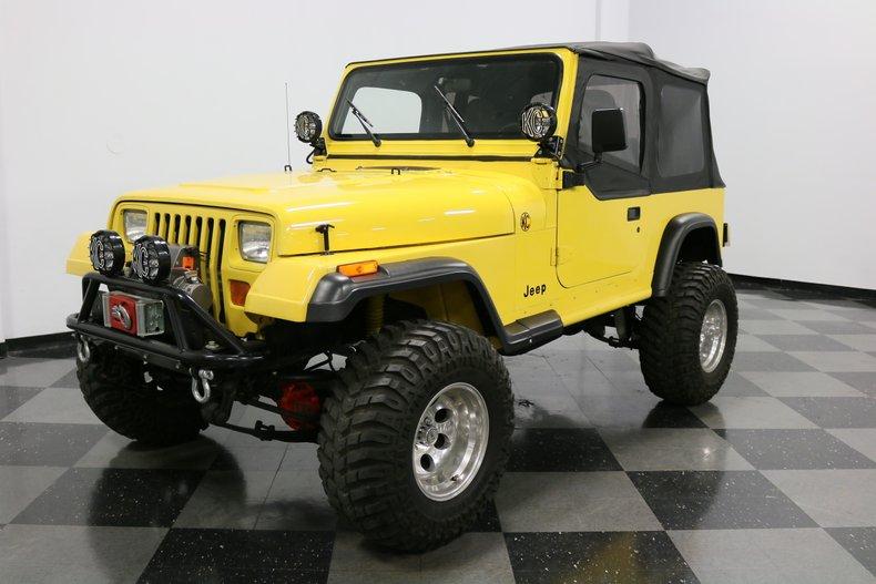 1993 Jeep Wrangler 23