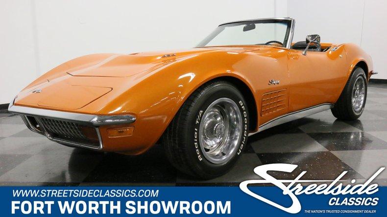 For Sale: 1972 Chevrolet Corvette
